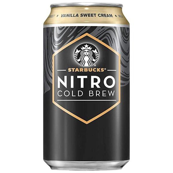 香草甜奶油口味氮气冷萃咖啡 8罐装