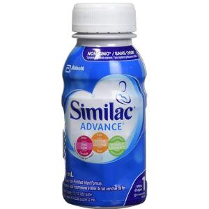 $37.98(原价$46.98)Similac Advance Step 1 即开即饮配方液体配方奶 16瓶X235ml