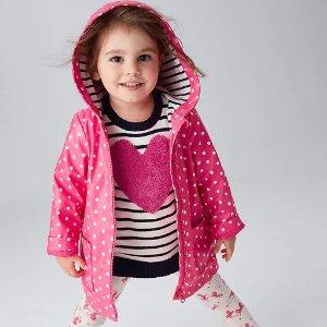 低至5折+额外8折+无门槛包邮Gap 童装特卖,毛衣低至$16