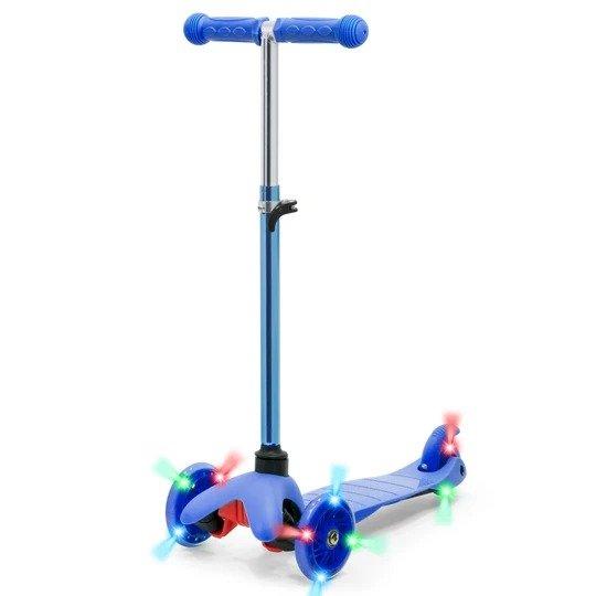 儿童滑板车,滚轮可亮灯,5色选