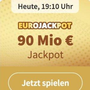 周五开奖 奖金累计9000万欧元EUROJACKPOT 3注只要€2 单车秒变摩托 财务自由在此一搏