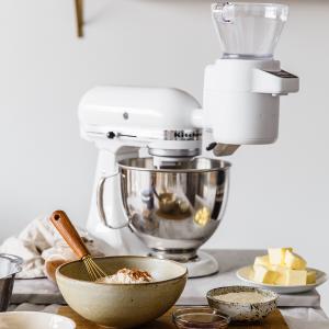 德亚销冠!史低€350入手Prime Day 狂欢价:KitchenAid 全能厨师机 厨房小助手 有了它做饭就这么简单