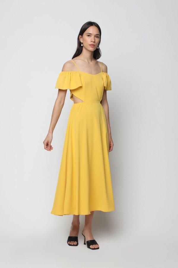 淡黄的长裙 6498