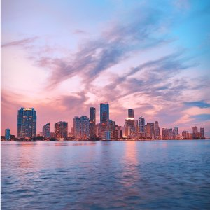 As low as $49 RoundtripUS Cities - Miami Roundtrip Airfare on Frontier Airline