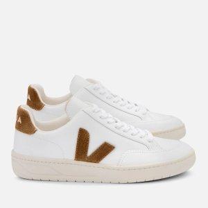 VejaMen's V-12 小白鞋 - Extra White/Camel