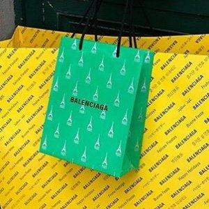 无门槛7.5折 老爹鞋$900+Balenciaga 新款热卖 T恤卫衣、机车包、沙漏包