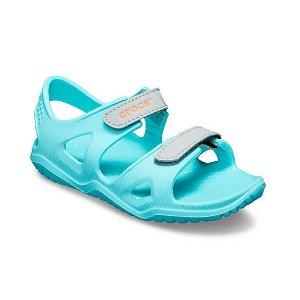 第二双4折 两双低至$28限今天:Crocs官网 儿童凉鞋、拖鞋一日闪购