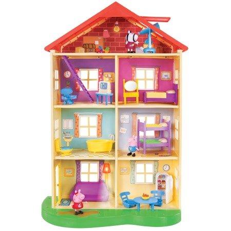 带声光佩奇4层小房子