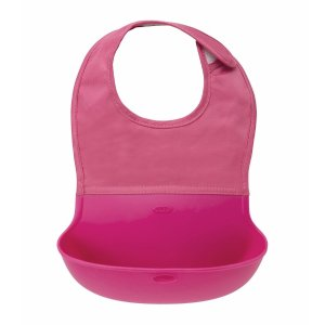 OXO totRoll Up Bib - Pink