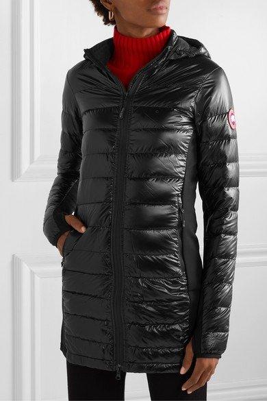 Hybridge hooded 长外套