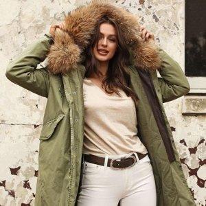 Up to 60% OffBlue&Cream Jackets & Coats Sale