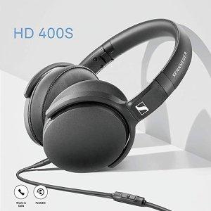 7.1折 €49(原价€69)Sennheiser HD 400S 智能线控耳机热促 简约之美 悦然心动