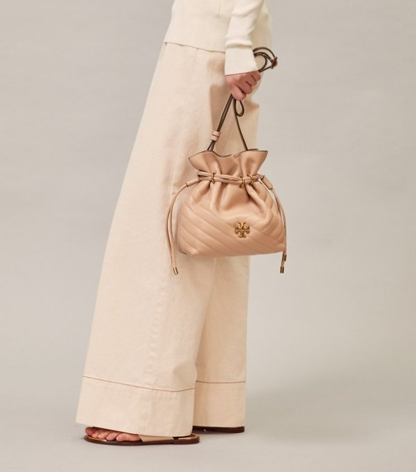 Kira 裸色水桶包