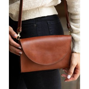 Cleo Convertible Clutch Rosewood