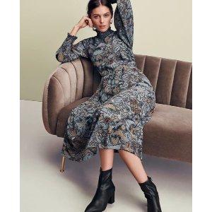 Ann TaylorPetite Floral Smocked Maxi Dress | Ann Taylor