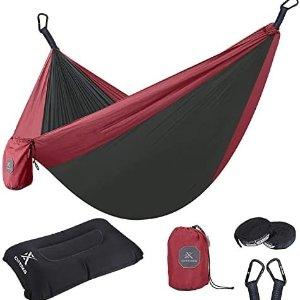 Extremus 户外休闲吊床白菜价收 送枕头和其他小配件