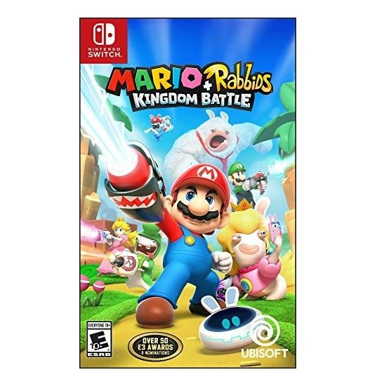 《马里奥+疯兔:王国之战》Nintendo Switch 实体版