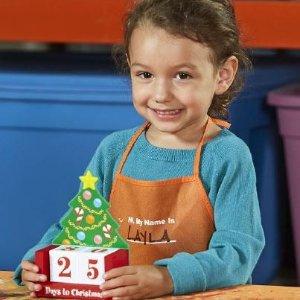制作 圣诞倒计时日历预告:12月 Home Depot 免费的儿童手工活动