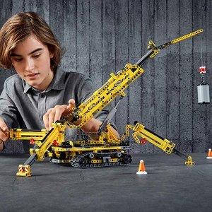 低至$18.42史低价:LEGO Technic 系列 多款机械拼搭玩具特卖