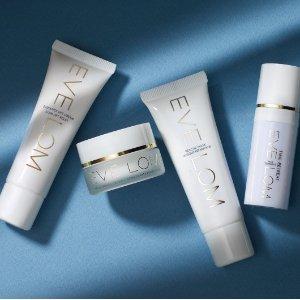 订单满£80 2份赠品EveLom官网圣诞活动 全英卸妆最强单品