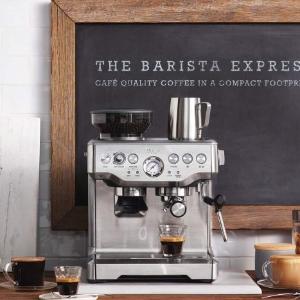 低至3折 €98收复古奶油白咖啡机Prime Day 狂欢价:德亚咖啡机折扣汇总 德龙、飞利浦、Sage、Krups都参加