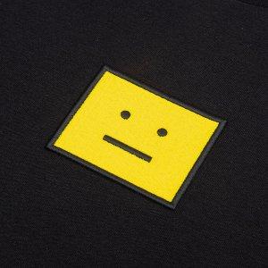 低至3.5折 $114收卡包手慢无:Acne studios 极简风时尚 多款囧脸T恤、卫衣上新