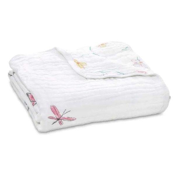 经典纱布毯