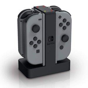 $34.99(原价$45) 四室 互不打扰Switch 游戏手柄充电座 给你的手柄买套房