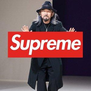 9月17日发售 年度最强联名新品预告:Supreme x Yohji Yamamoto 2020 秋冬联名系列发布