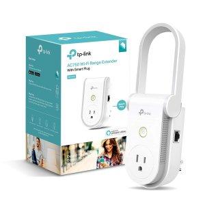 Kasa RE270K AC750 Wi-Fi Range Extender Smart Plug