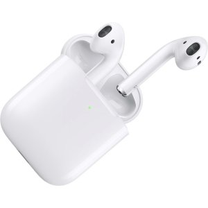 $62.47Apple AirPods with Wireless Charging Case - White (MRXJ2AM/A) Used