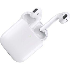 $62.47 品相优秀, 包邮Apple AirPods 2代无线充电盒版本 二手版