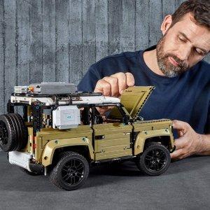 Amazon LEGO Technic Land Rover Defender 42110 Building Kit (2573 Pieces)