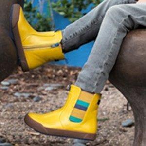 $11.99起 最低折扣重现即将截止:pediped OUTLET 秋款童鞋低至5折+额外6折热卖