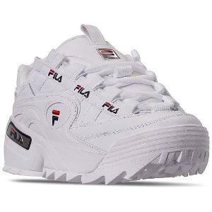 $25(原价$65)+包邮Fila D Formation 女款老爹鞋促销 码全