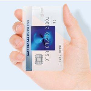 永久免费的信用卡美国运通蓝卡,开户25欧元奖金