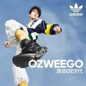 5折起+额外7折最后一天:adidas OZWEEGO 超值折扣 王嘉尔款$63最后码