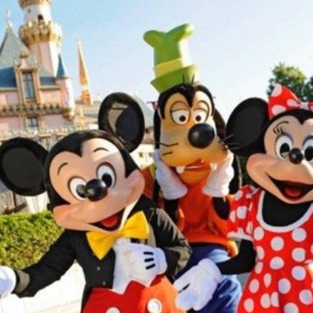 【门票】洛杉矶迪士尼乐园+冒险乐园门票(1日多园)【电子票+极速确认+赠送电子地图】