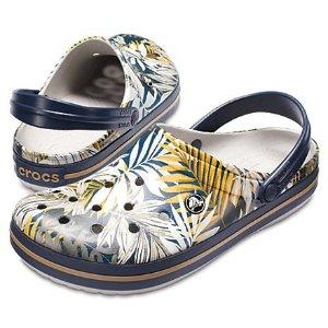 印花洞洞鞋(4款选)