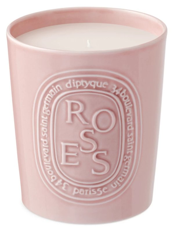 玫瑰香氛蜡烛