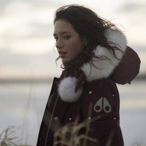 Moose Knuckles80%鸭绒,20%羽毛填充- Saskatchewan 加长款羽绒服