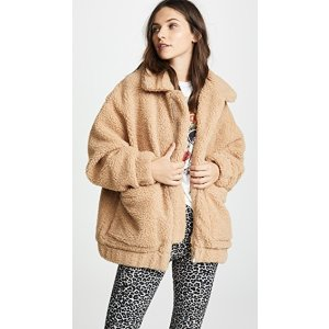 娜比同款泰迪熊外套