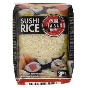 优惠价仅€1.51ITA SAN 板前寿司米热卖 圆圆QQ 粒粒饱满