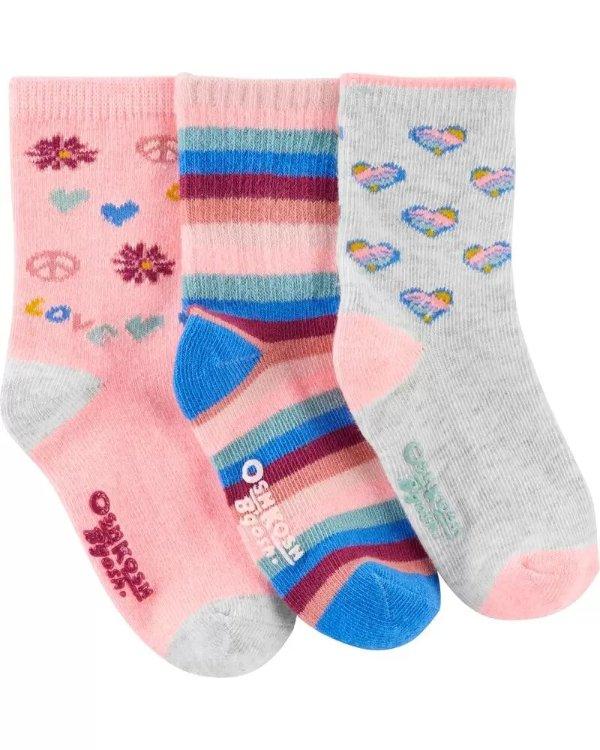 小童袜3双 2T-4T