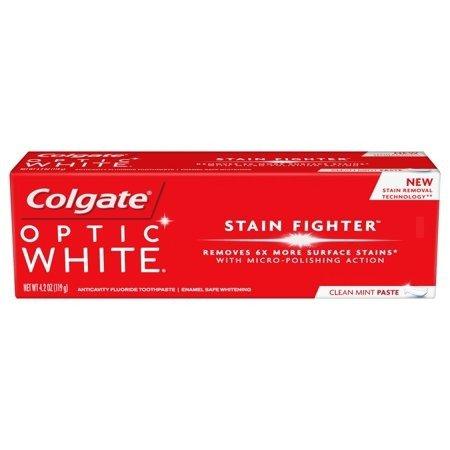 Optic White 美白牙膏 4.2oz