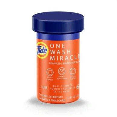 新款 汰渍奇迹双重洗衣小橘罐