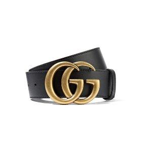 Gucci包税经典双G腰带