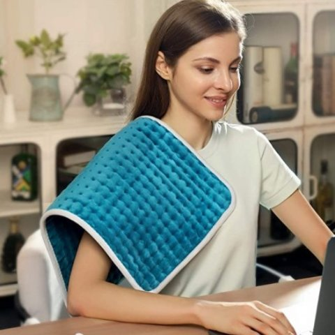 Sable Heating Pad for Back Pain and Cramps Relief