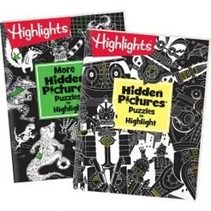 Highlights6-12岁 Puzzles to Highlight 两册合集
