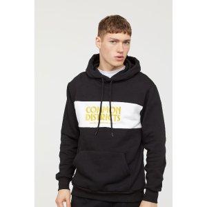 H&MHooded Sweatshirt with Motif